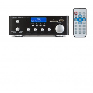 AS22 RUB AMPLI ESTEREO FONESTAR USB/SD/BLUETOOTH