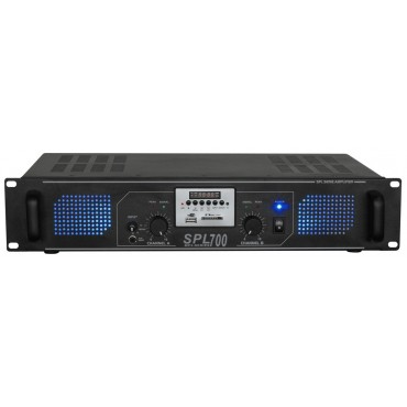 178769 ETAPA POTENCIA SPL700 SKYTEC 2x350W USB/SD M.D.