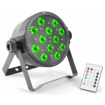 151273NL LED FLAT PAR 12x3W BEAMZ