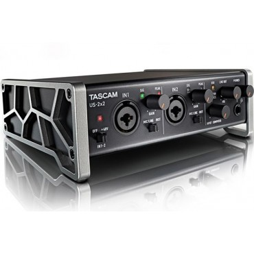 US2x2 INTERFACE AUDIO TASCAM  2 IN 2 OUT MIDI