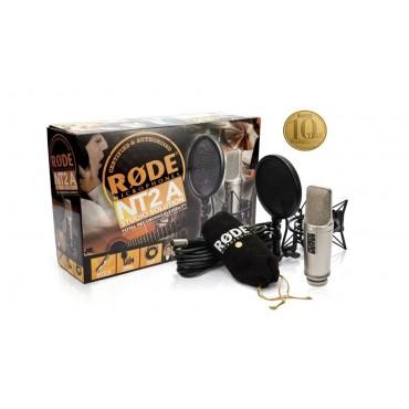 NT2A SSK MICRO DE CONDENSADOR RODE MICRO+SUSPENSION+CABLE+ANTIPOP+DVD