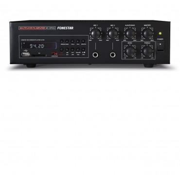 MA30RGU AMPLI MEGAFONIA FONESTAR 45W USB/GRABADOR/FM SOBREMESA Y VEHICULOS