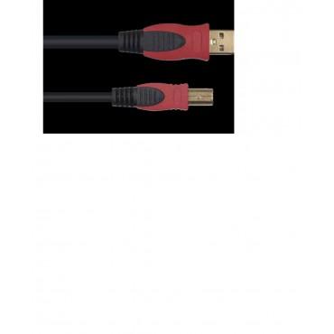 ECON01-1 CABLE USB-USB YELOW  1 METRO DE LARGO