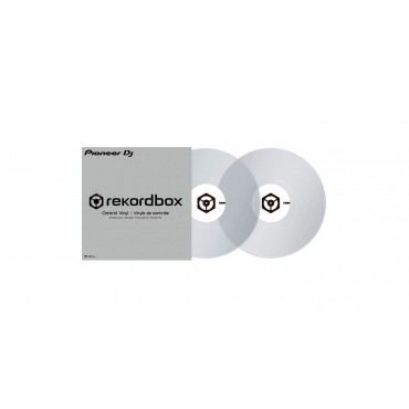 RBVD1 CL PAR VINILOS REKORDBOX TRANSPARENTES PIONEER