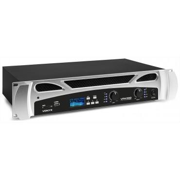 172092 VPA300 AMPLIF.2X150W VONYX/FENTON USB/BT/SD