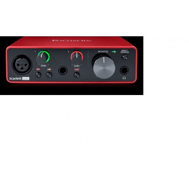 SCARLETT SOLO 3RD INTERFACE FOCUSRITE