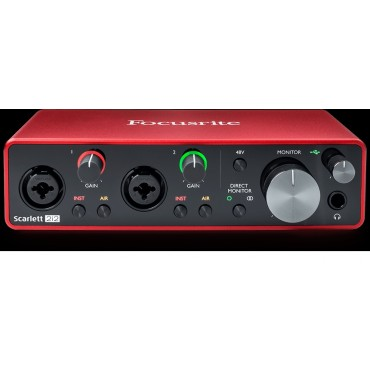 SCARLETT 2I2 3RD INTERFACE FOCUSRITE