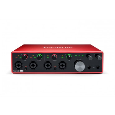 SCARLETT 18I8 3RD INTERFACE FOCUSRITE