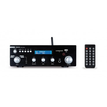 AS25 RUB AMPLI ESTEREO FONESTAR BLUETOOTH 30+30 A 4 USB SD