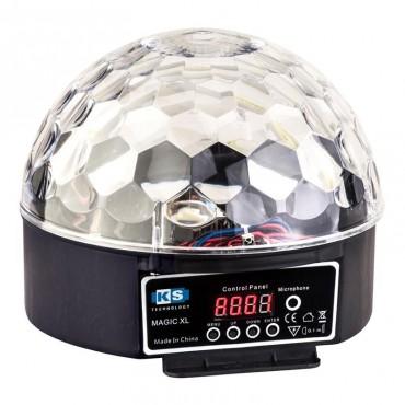MAGIC XL BOLA LED KS  DMX 6X3W AUTOMATIC