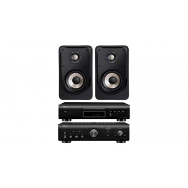 PACK PMA600+DCD600 DENON +S20 POLK AUDIO NEGRO
