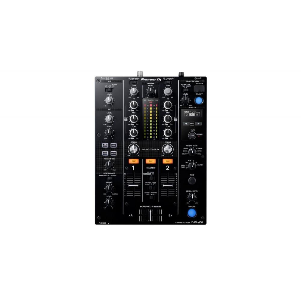 DJM450 MEZCLADOR 2 CH PIONEER DJ