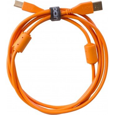 638258 CABLE USB NARANJA U95002OR UDG 2 METROS