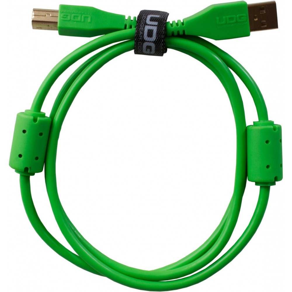 638252 CABLE USB U95001GR VERDE UDG 1 METRO