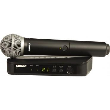 BLX24E/PG58 MICRO INALAMB VOCAL SHURE