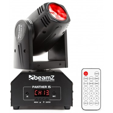 150458 PANTHER 15 CABEZA MOVIL MINI LED BEAM