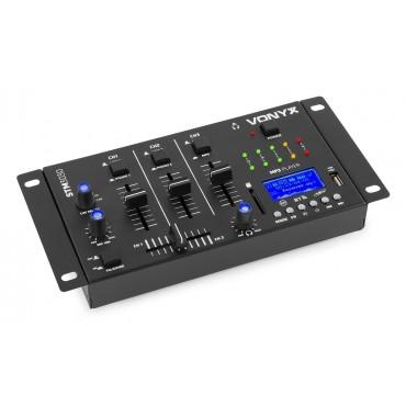 172990 MEZCLADOR STM3030 VONYX 4CH USB/SD/MIC