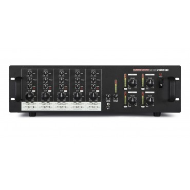MAZ4480 AMPLIFICADOR MULTIZONA FONESTAR MATRIZ 5 CANALES ENTRADA A 4 ZONAS SALIDA