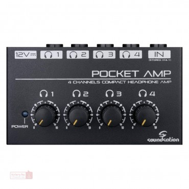 POCKET-AMP(I517I) SOUNDSATION AMPLIFICADOR DE AURICULARES