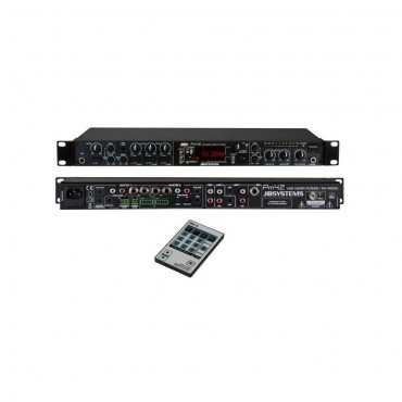 PM4.2 MEZCLADOR USB/FM JB SYSTEMS MEZCLADOR AUDIO DE HASTA 4 FUENTES
