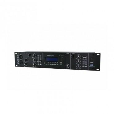 GYM22 PLAY MEZCLADOR 6 IN ACOUSTIC CONTROL ESPECIAL GIMNASIOS 6 ENTRADAS USB/SD