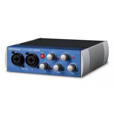 AUDIOBOX USB 96 INTERFACE PRESONUS 2x2 USB 2.0 a 24-Bit / 96 kHz