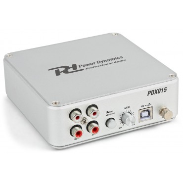 172775NL PDX015  POWER DYNAMICS INTERFACE+PREVIO PARA PHONO
