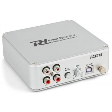 172775NL PDX015  POWER DYNAMICS INTERFACE+PREVIO PARA PHONO