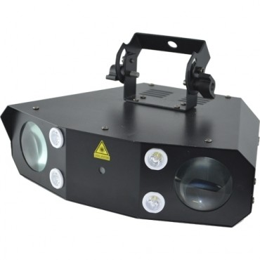 LED SHOW 2000 ACOUSTIC CONTROL  LED-LASER-FLASH TRIPLE EFECTO