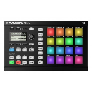 MASCHINE MIKRO MKII NEGRO NATIVE