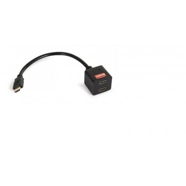 7900 CABLE 1HDMI A 2 HDMI FONESTAR 1 MACHO A 2 HEMBRAS