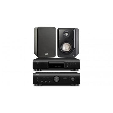 PACK 520 PMA520+DCD520+S15 DENON AMPLIFICADOR+COMPACT+ALTAVOCES POLK AUDIO