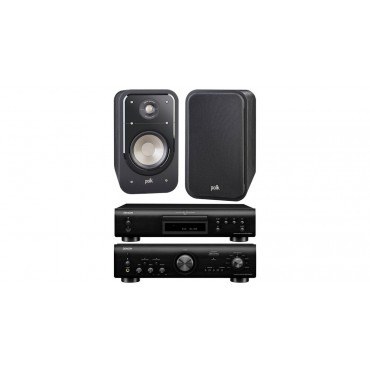 PACK 800 PMA800+DCD800+S20 DENON POLK AUDIO AMPLIFICADOR+COMPACT DISC+ALTAVOCES