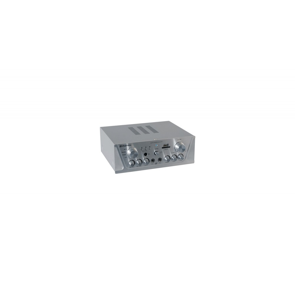 103131 AMPLI. 2x50W SKYTRONIC 2 IN DE MICRO ECO KARAOKE USB