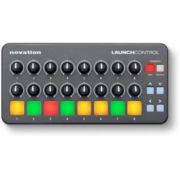 LAUNCH CONTROL CONTROLADOR NOVATION 16 potenciómetros y 8 pads