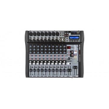 SM3512U MEZCLADOR 12CH USB/SD EFECTOS  FONESTAR