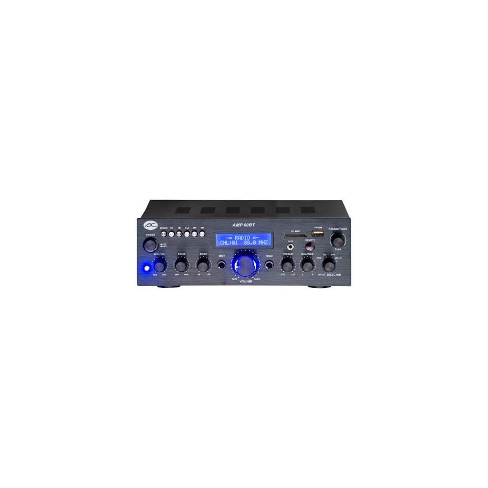 AMP60BT AMPLIFICADOR ACOUSTIC CONTROL USB 25Wx2 BLUETOOTH