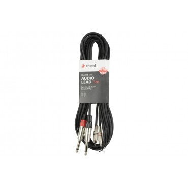190068UK CABLE CHORD 2 JACKS A 2 RCA