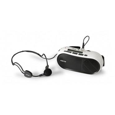 FAP12GU AMPLIFICADOR  FONESTAR PERSONAL 10W.USB MICRO DIADEMA