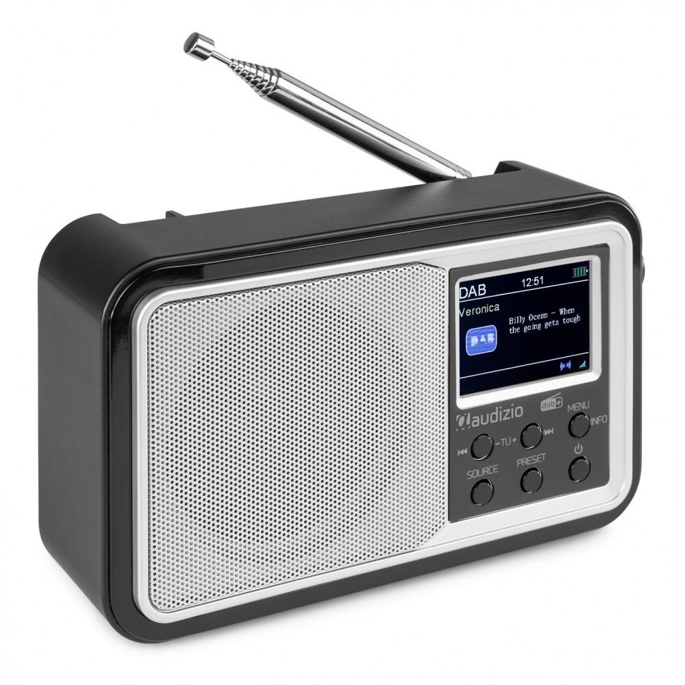102208 ANZIO RADIO PORTÁTIL DAB+ CON BATERÍA