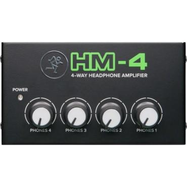 HM4 AMPLI. AURICULARES MACKIE 1 ENTRADA 4 SALIDAS