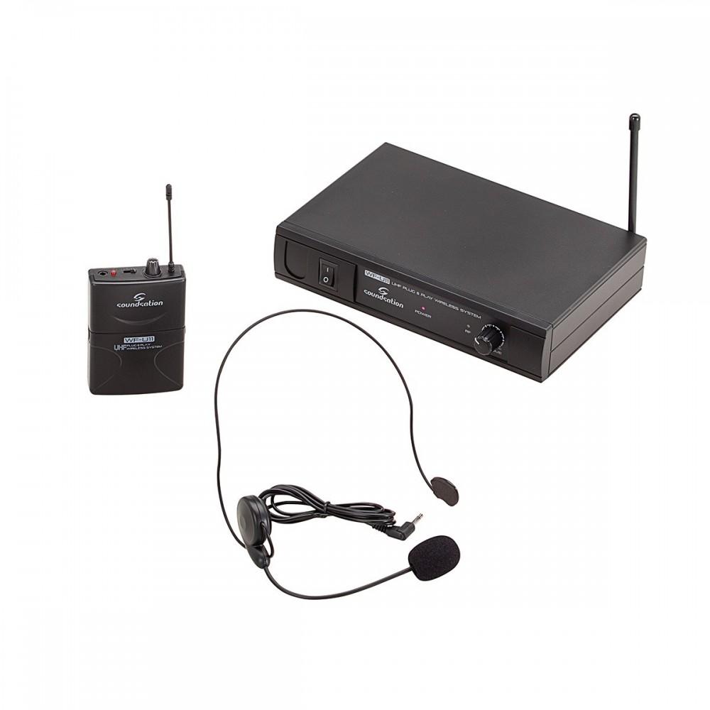 E052E MICROFONO INALAMBRICO WFU11PB SOUNDSATION 863.55 MH.  DIADEMA
