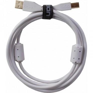 638254 CABLE USB U95001WH BLANCO UDG 1 METRO