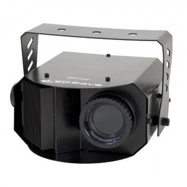 DISCO     4157 LED RAVE 15 GOBOS JB SYSTEMS LED BLANCO 10 W MICRO INTERNO
