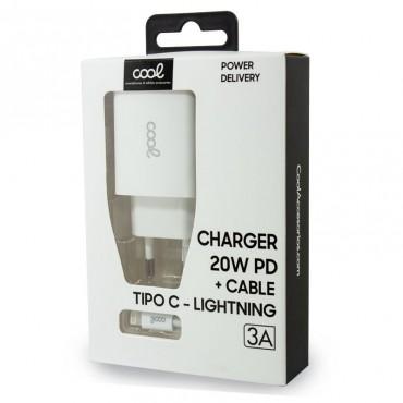 5658 CARGADOR TIPO C-LIGHTNING COOL