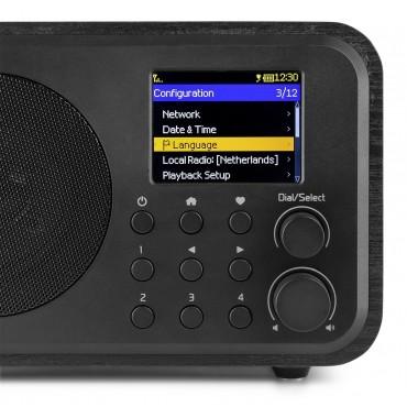 102220 VENICE RADIO WIFI AUDIZIO COLOR NEGRO CON BATERIA