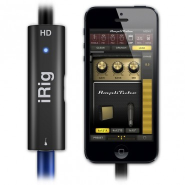 IPIRIGHD INTERFACE AUDIO IK MULTIMEDIA PARA CUALQUIER MAC GUITARRA/SINTES ETC