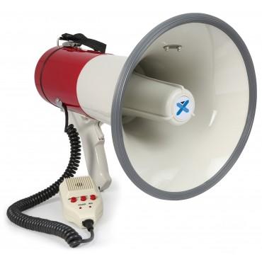 952010NL MEGAFONO 50W MEG050 VONYX GRABAR MICRÓFONO DE SIRENA